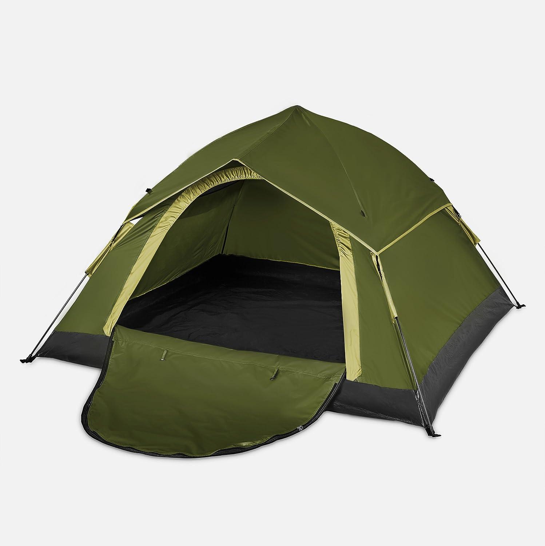 Lumaland Tienda de campa/ña Outdoor Light Pop Up Ligera para 3 Personas Camping Acampada Festival 210 x 190 x 110 cm