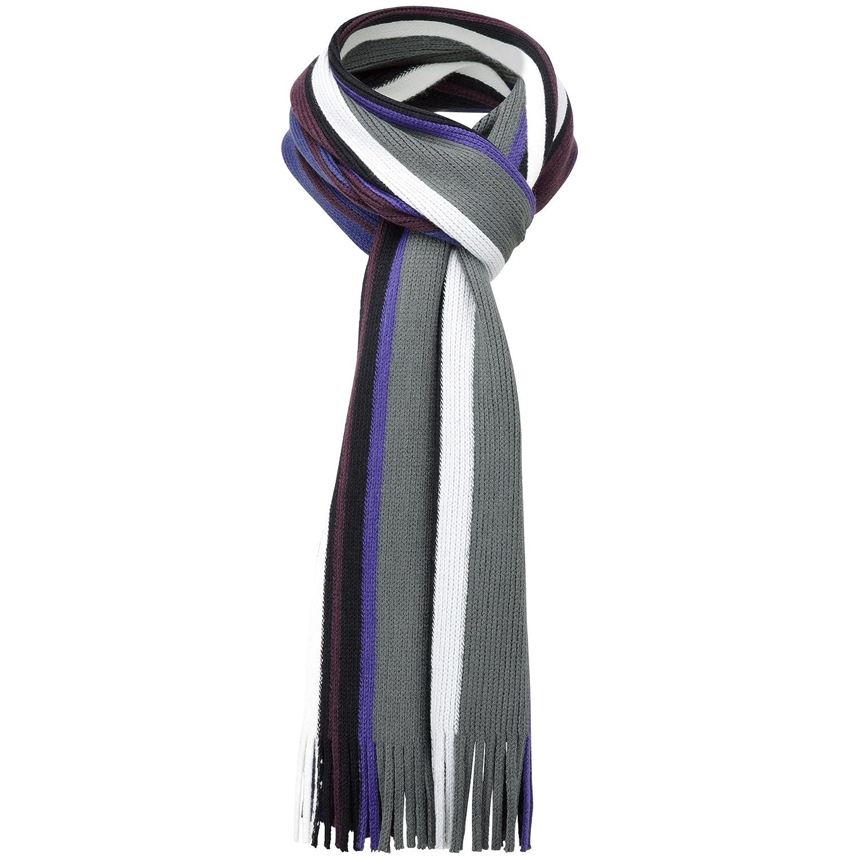 Charles Wilson Winter Neck Scarf Purple) SCF013PRL