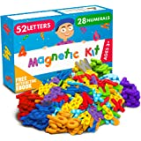 Magnetic Letters and Numbers for Toddlers and Kids - Premium Alphabet Magnets for Refrigerator and Dry Erase Board…