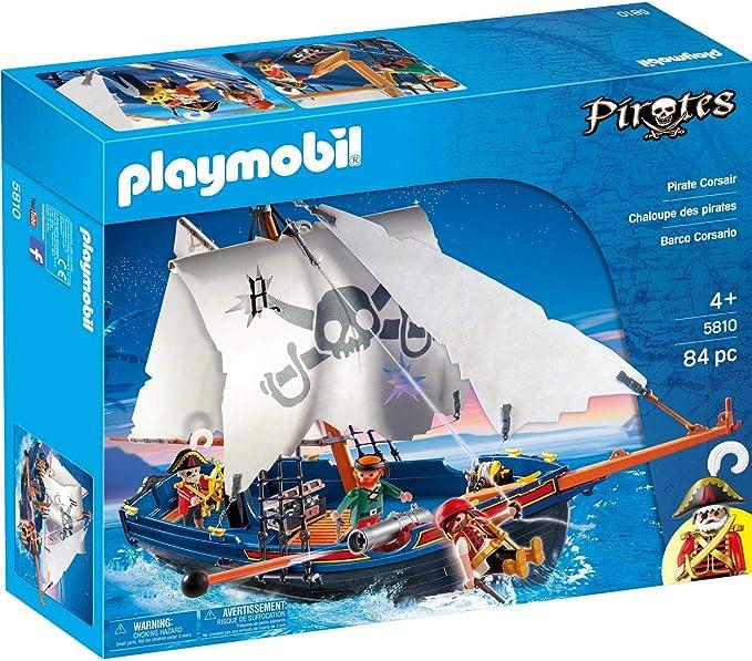 PLAYMOBIL - Barco corsario, Set de Juego (5810): Amazon.es: Juguetes y juegos