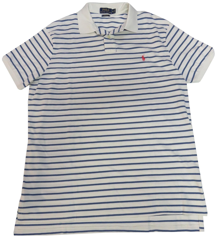 Ralph ShirtSize X Fit LargeBluewhite Polo Custom Lauren Men's Stripes PTXuwZiOkl