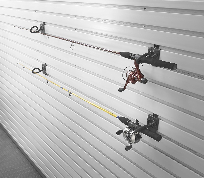 Amazon.com: Gladiator GAWVXXFHTH Fishing Pole Holder, 2-Pack: Home ...