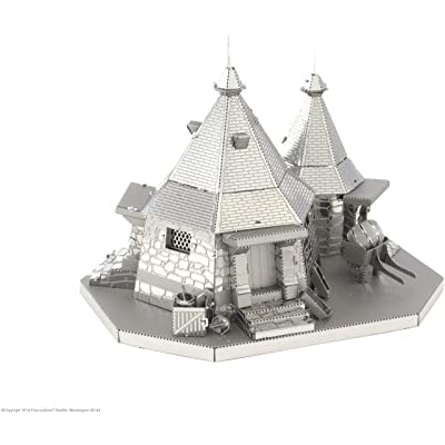 Fascinations Metal Earth Harry Potter Metal Earth Hagrid's Hut 3D Metal Model Kit: Fascinations: Toys & Games