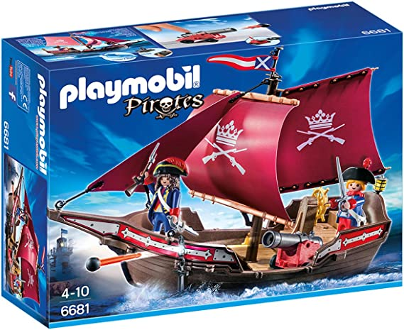 PLAYMOBIL - Barco Patrulla de Soldados (66810): Amazon.es: Juguetes y juegos