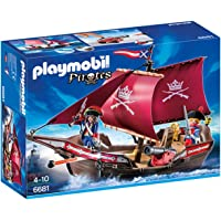 Playmobil Soldiers Cannon Boat Playset Toy