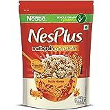 Nestle NesPlus Breakfast Cereal, Multigrain Granola – Nutty Honey, 475 Grams