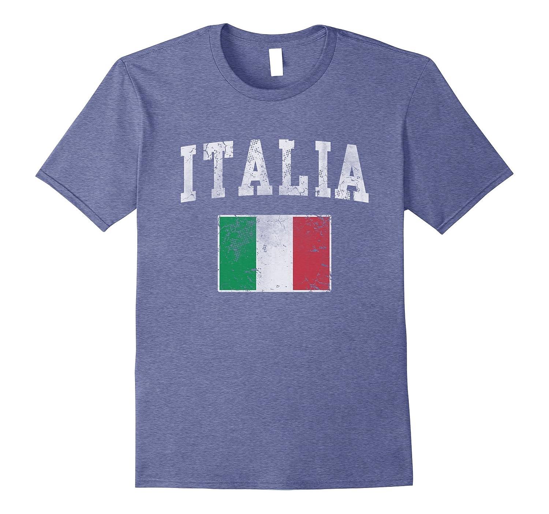 Vintage Italia Italian Flag Italy Shirt-FL