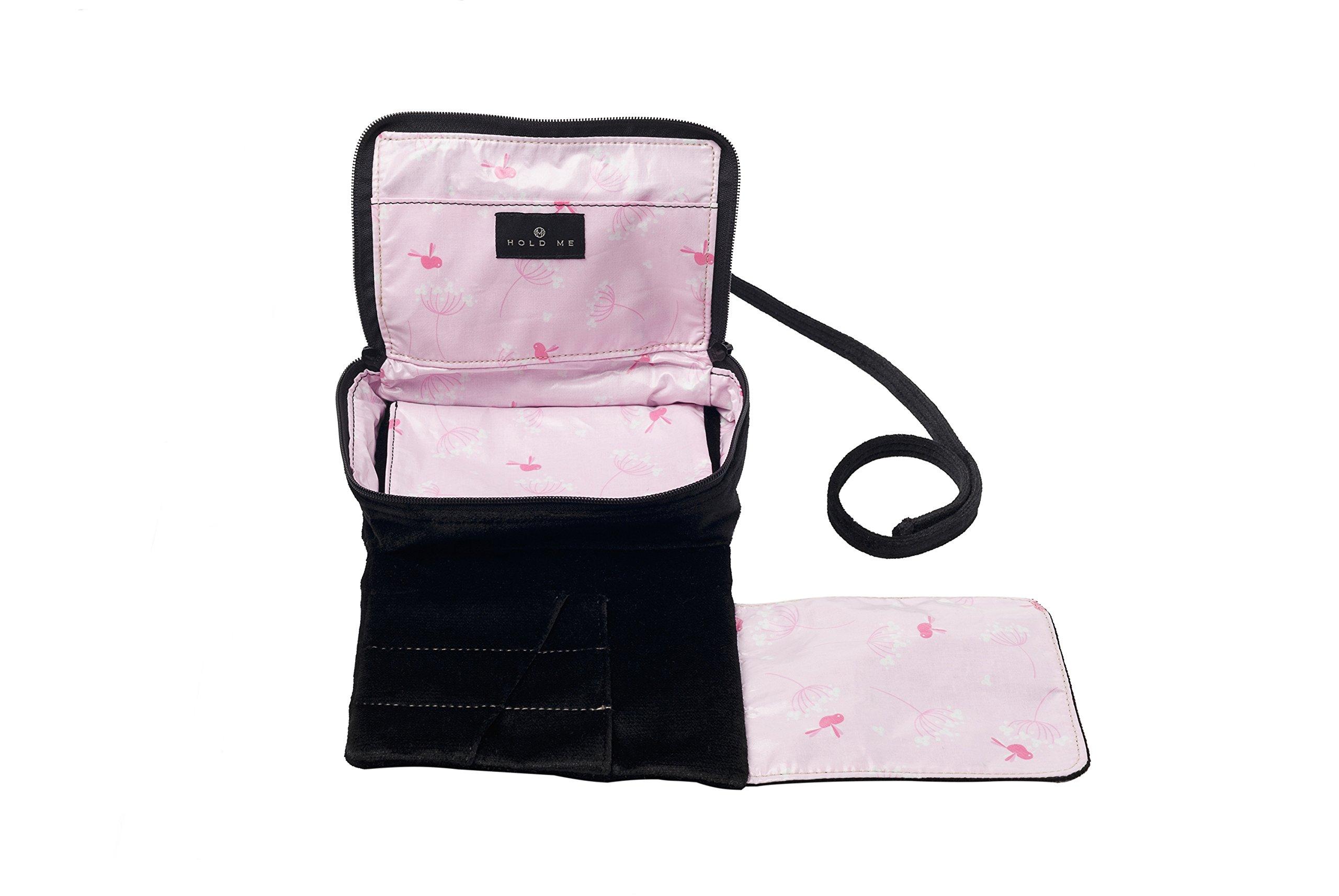 Hold Me Baby Bag -Dear Darla - Small Makeup & Brush Organizer
