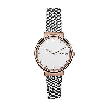 Skagen Reloj para Mujer de Cuarzo con Correa en Acero Inoxidable SKW2616: Amazon.es: Relojes