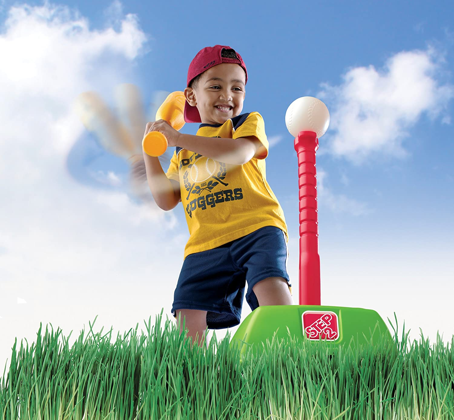 Amazon Step2 2 in 1 T Ball and Golf Set Toy Outdoor Play