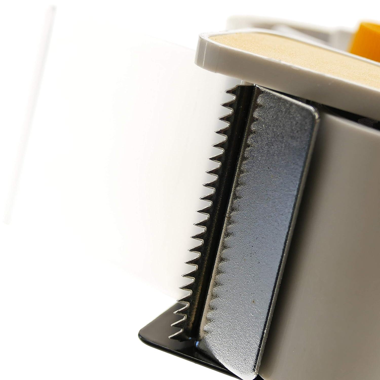 Tolsen IG81-VCES Precintadora dispensadora de cinta adhesiva de 50 mm con un rollo IG81
