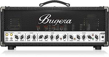 Bugera - Amplificador guitarra 6262 infinium amplific valvulas 120 w
