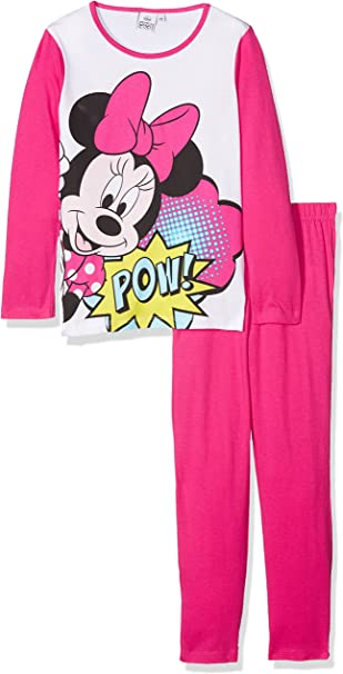 Disney Minnie Mouse Pow Conjuntos de Pijama para Ni/ñas