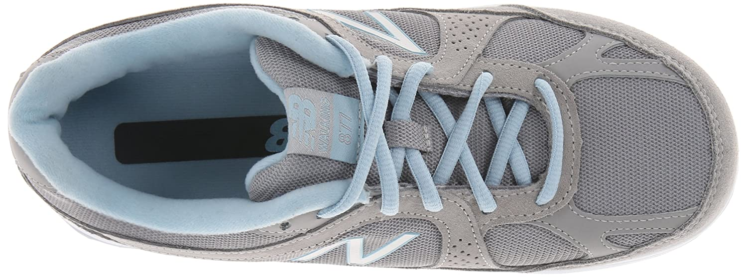 New Balance Women's WW877 Walking Shoe B00F5VEKG4 9 2A US|Silver