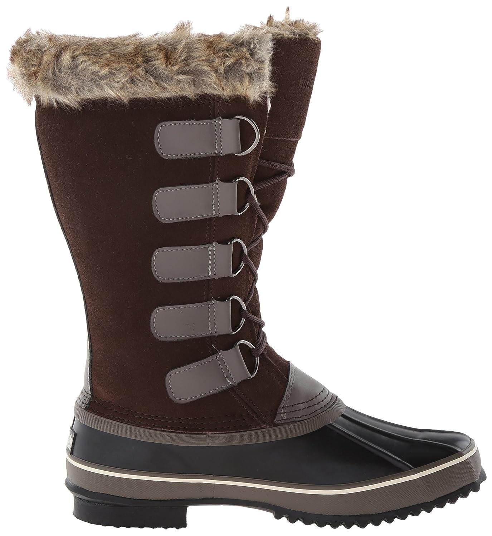 Northside Women's Kathmandu Waterproof Snow Boot B075TWGWZX 11 B(M) US|Dark Brown/Stone