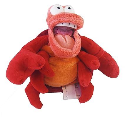 Amazon.com  Disney Exclusive Little Mermaid Mini Bean Bag Plush - SEBASTIAN  the Crab 8