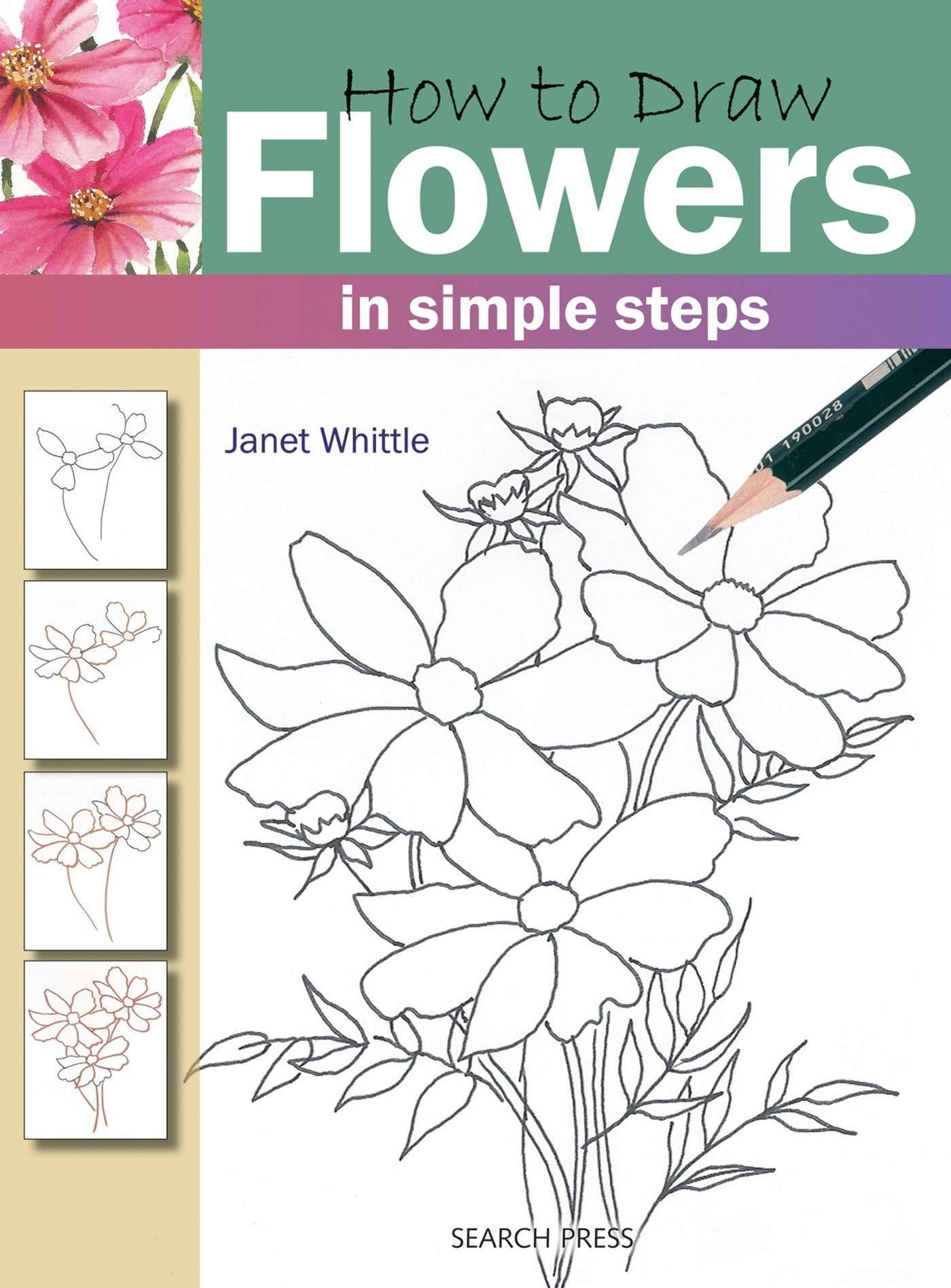 Amazon.com How to Draw Flowers (0693508004665) Janet