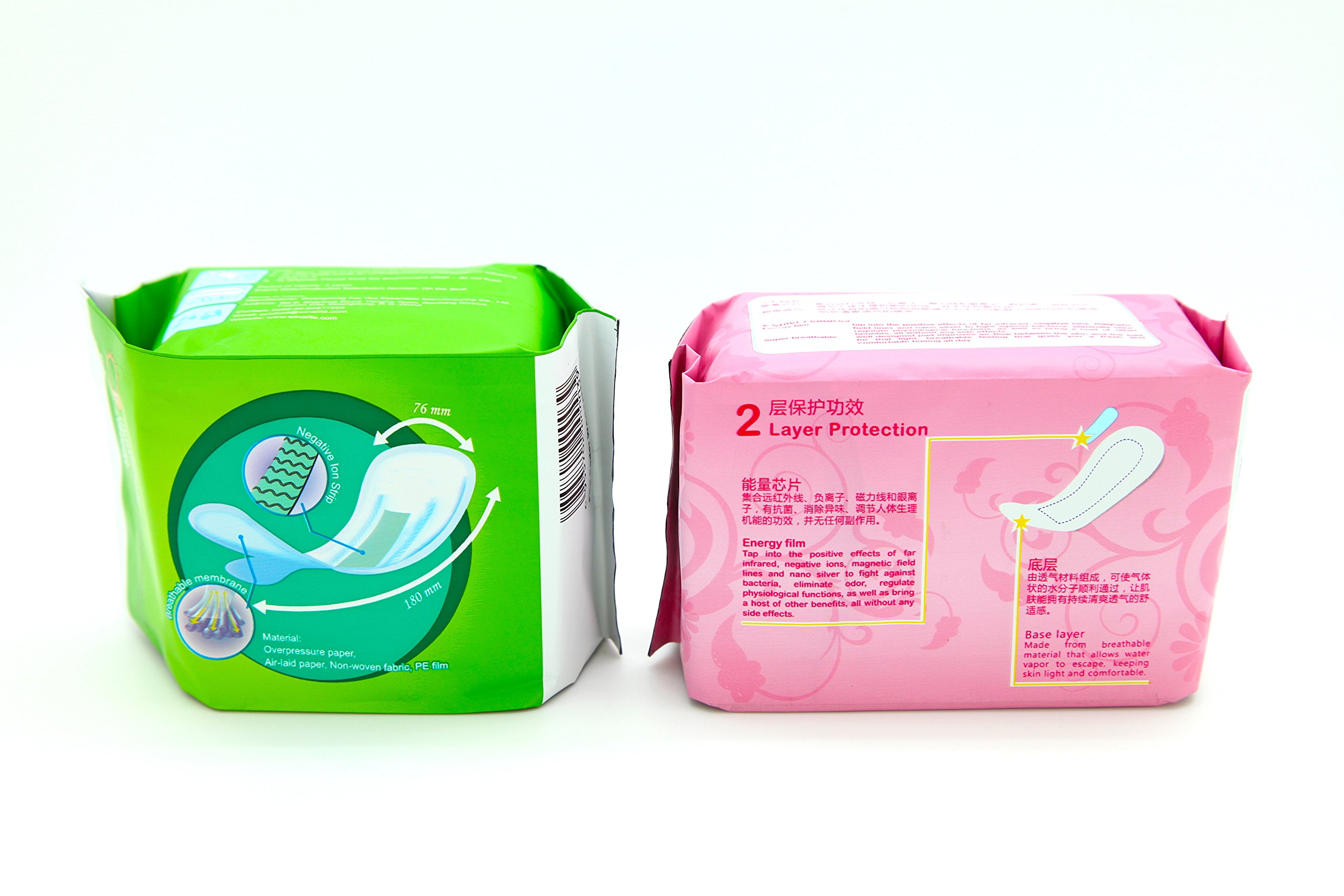 5 Pack Winalite Winion Anion Pantiliner With 5 Pack Prettie Energy Sanitary Panty Liner by Winalite (Image #2)