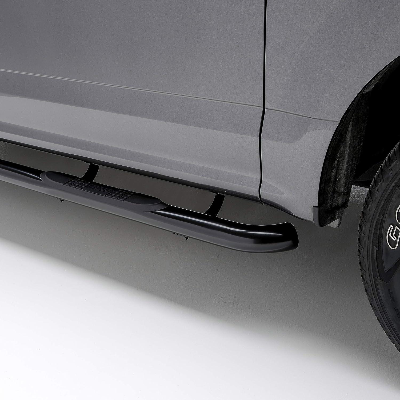 ARIES 202022 3-Inch Round Black Steel Nerf Bars Select Toyota 4Runner