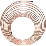 "Nickel/Copper Brake Line Tubing Coil, 3/16"" x 25'"