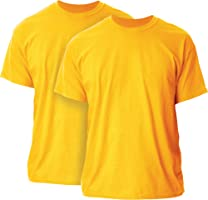 Gildan Mens Ultra Cotton Adult T-Shirt, 2-Pack