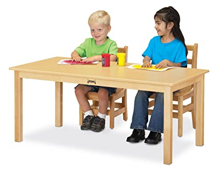 Jonti Craft 56810JC Multi Purpose Large Rectangle Table, 10u0026quot; High, ...