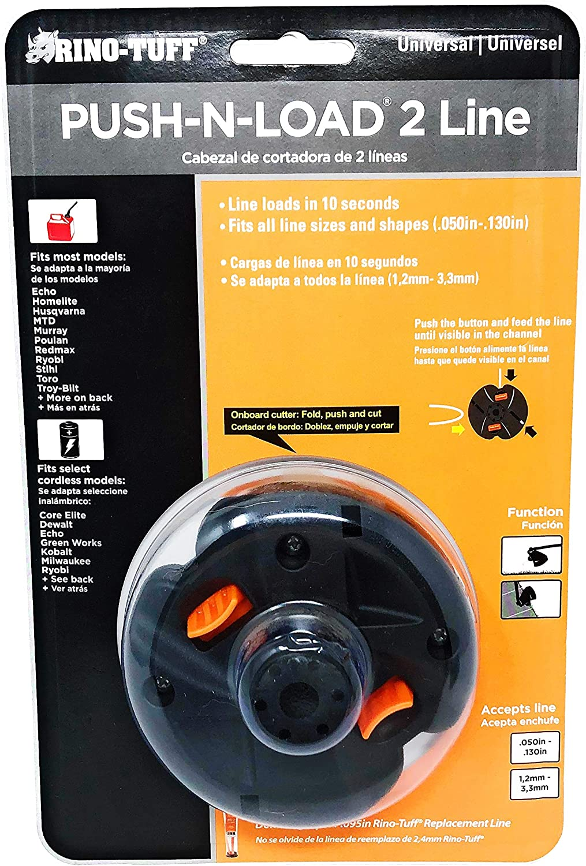 Amazon.com: rino-tuff push-n-load Universal cabezal de corte ...