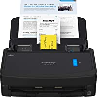 $349 » Fujitsu ScanSnap iX1400 Simple One-Touch Button Document Scanner for Mac or PC, Black