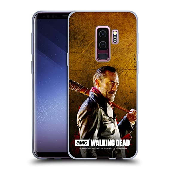 Official AMC The Walking Dead Lucille 1 Negan Soft Gel Case Compatible for  Samsung Galaxy S9+ / S9 Plus