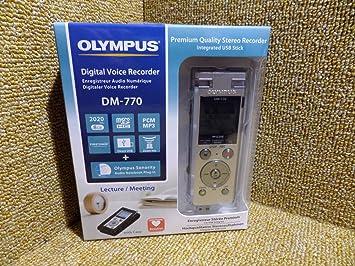 Olympus DM‑770 Digital Voice Recorder