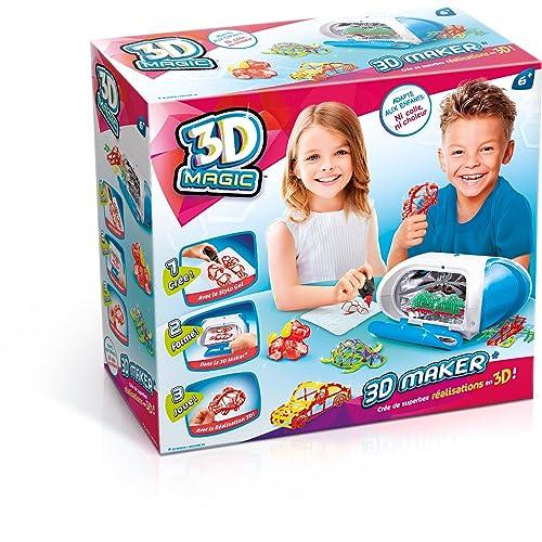 Canal Toys - CT54001 - Loisir Créatif - 3D Maker  - Création et Réalisation 3D - Magic 3D