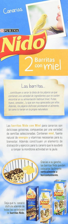 Nido Barritas Con Miel para Alimentación de Canarios - 45 g: Amazon.es: Amazon Pantry
