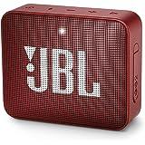 JBL GO 2 - Altavoz inalámbrico portátil con Bluetooth, parlante resistente al agua (IPX7), hasta 5 h de reproducción con sonido de alta fidelidad, amarillo
