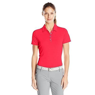 adidas Golf Women's Essentials Short Sleeve Polo