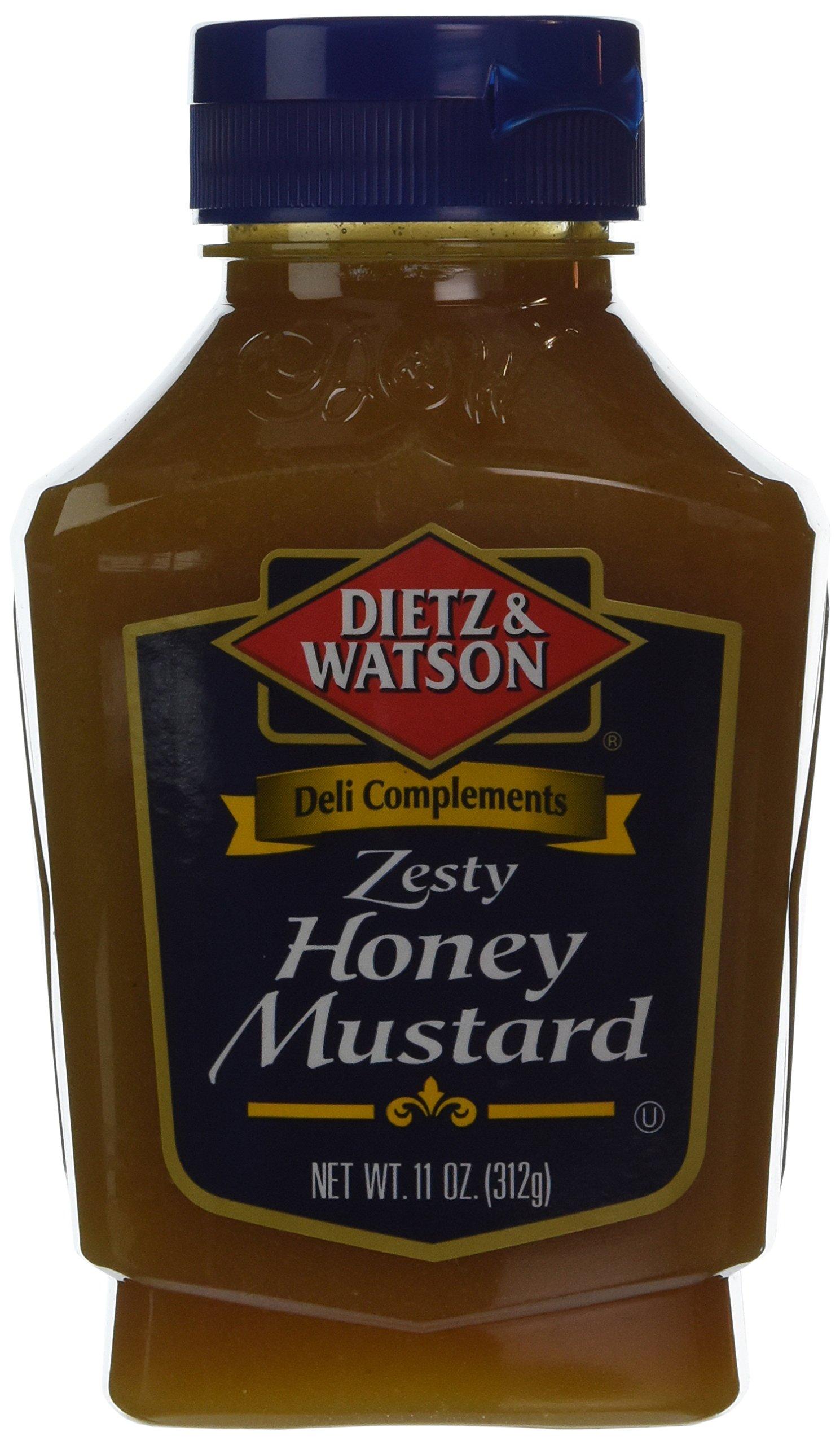 Dietz & Watson, Deli Compliments, Zesty Honey Mustard, 11oz Bottle (Pack of 2) by Dietz & Watson