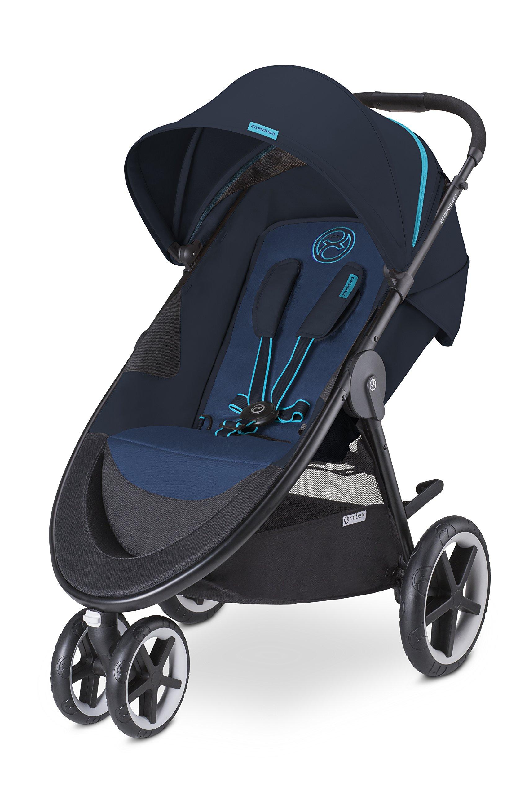 CYBEX Eternis M3 Baby Stroller, True Blue