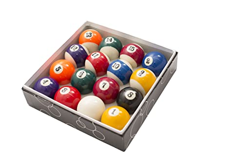 2 1/4 Inch Standard American Pool Table Billiard Ball Set Precision Engineered  sc 1 st  Amazon.com & Amazon.com : 2 1/4 Inch Standard American Pool Table Billiard Ball ...