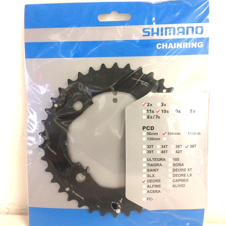 Shimano FC-M617 chainring 38T-AZ
