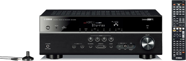 Yamaha RX-V473 - Amplificador (8100 g) color negro [importado ...