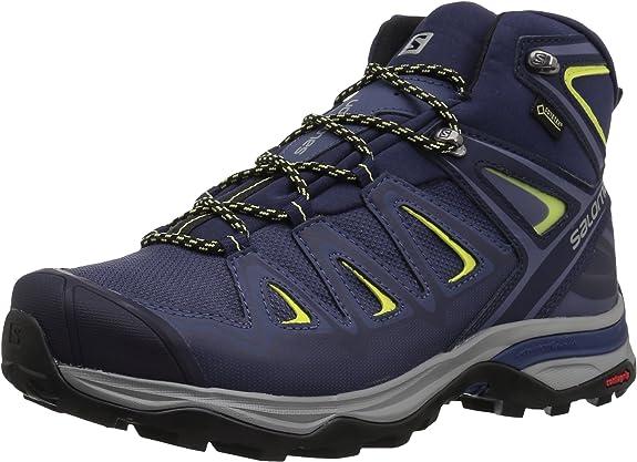Salomon X Ultra 3 Mid GTX W, Botas de Senderismo para Mujer: Amazon.es: Zapatos y complementos