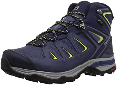 Salomon Women s Ultra 3 Wide Mid GTX W Trail Running Shoe Crown Blue 5 ... 5a6d463ab0