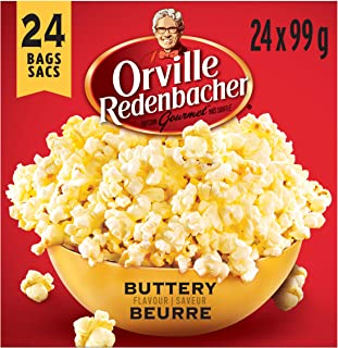 product image for Orville Redenbacher Popcorn, Microwave Buttery (24pk. with 24 bags total) {Imported from Canada}