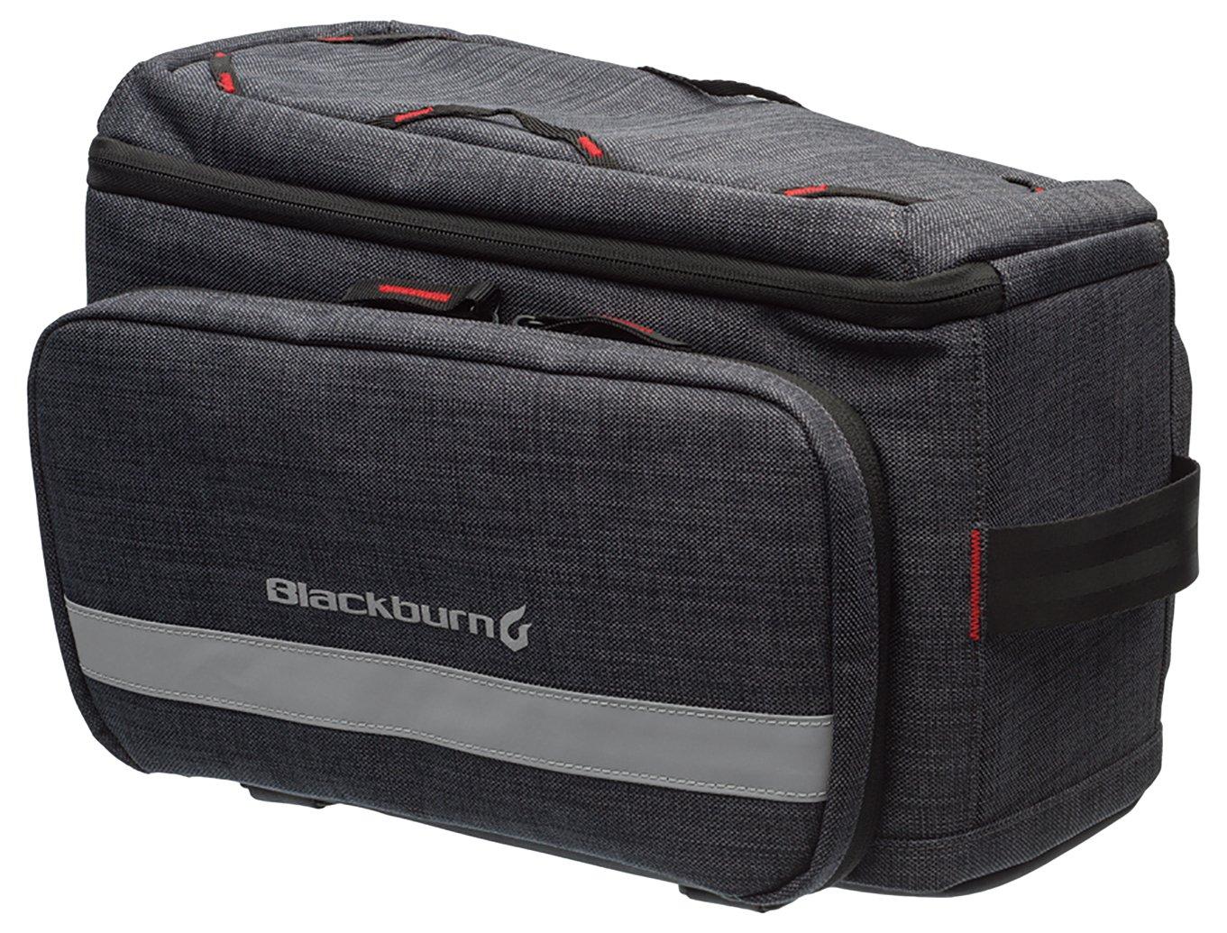 Blackburn(ブラックバーン) CENTRAL TRUNK RACK TOP BAG セントラル トランクラックトップ バッグ チャコール 7068192   B0141E7QLG