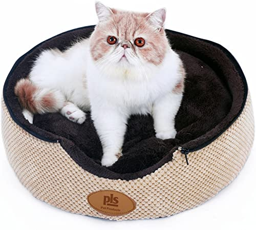 PLS Birdsong Pointy Dog Cave, Cuddle Dog Bed, Soft Dog House, Two Modes, Cat Bed, Pet Bed, Dog Beds for Small Dogs, Completely Washable