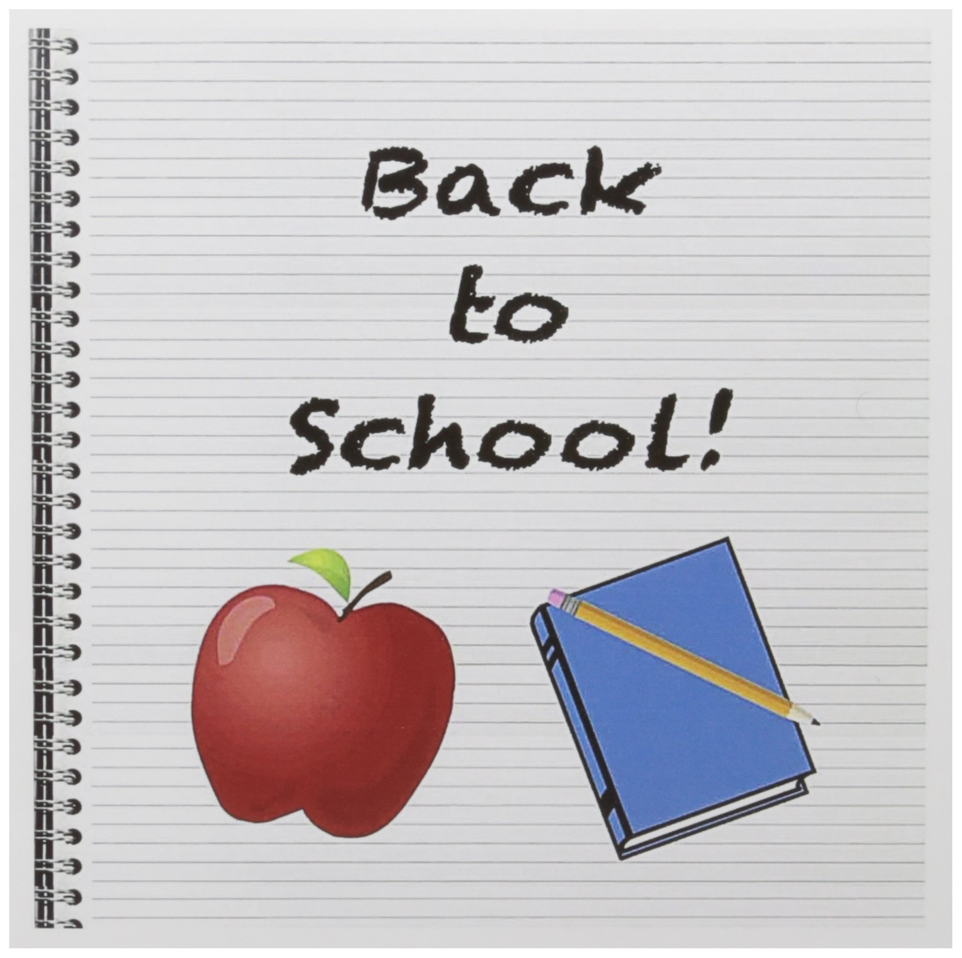 3dRose Back to School - Greeting Cards, 6 x 6 inches, set of 12 (gc_158457_2)