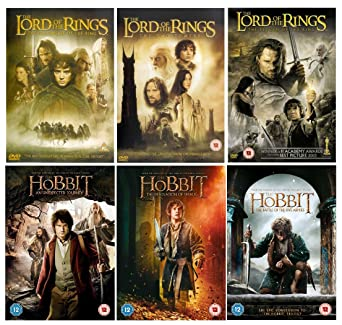 complete the lord of the rings trilogy 1 3 complete the hobbit