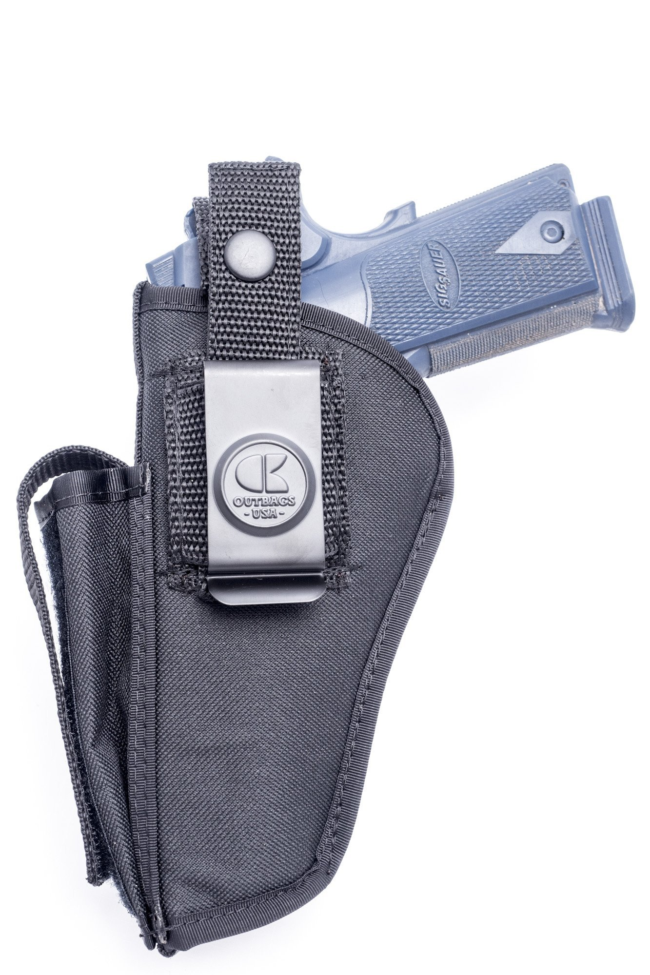 OUTBAGS USA OB-04SC Nylon OWB Outside Pants Carry Holster w/ Mag Pouch