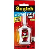 Scotch Super Glue Gel in Precision Applicator, 0.14ounce (AD125)