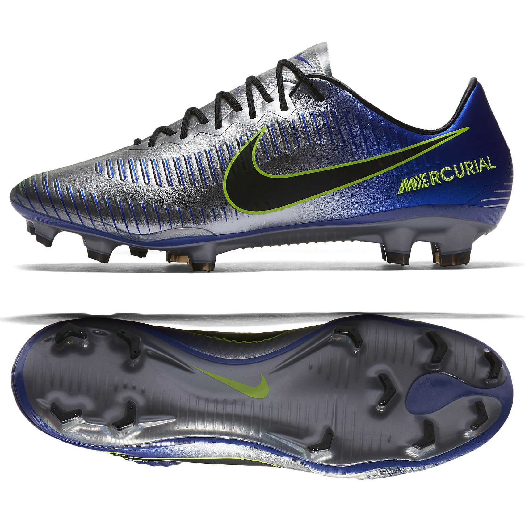 95365a785 Galleon - Nike Neymar Mercurial Vapor XI FG Cleats  Racer Blue  (8.5)