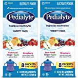 Pedialyte Oral Electrolyte Powder - Assorted Flavors - 0.3 oz - 16 ct - 2 pk